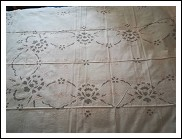 Carved tablecloth