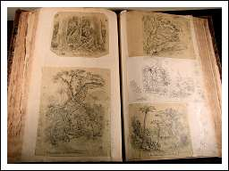 Hand Drawings of SKETCHBOOK-1830 -1850 -P -