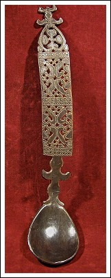 Indonesian Tribal Art - Horn spoon, Timor Island, Indonesia.